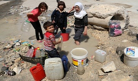 syrian refugees water scarcity