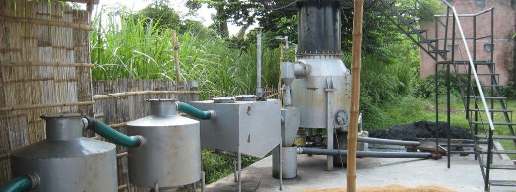 biomass microgrid