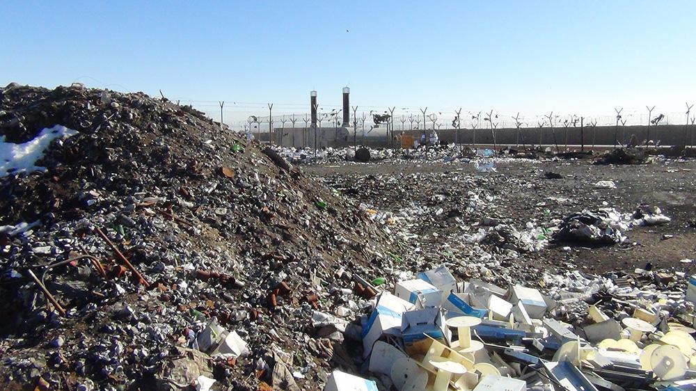 trash military base afghanistan
