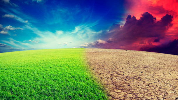 climate change sky earth