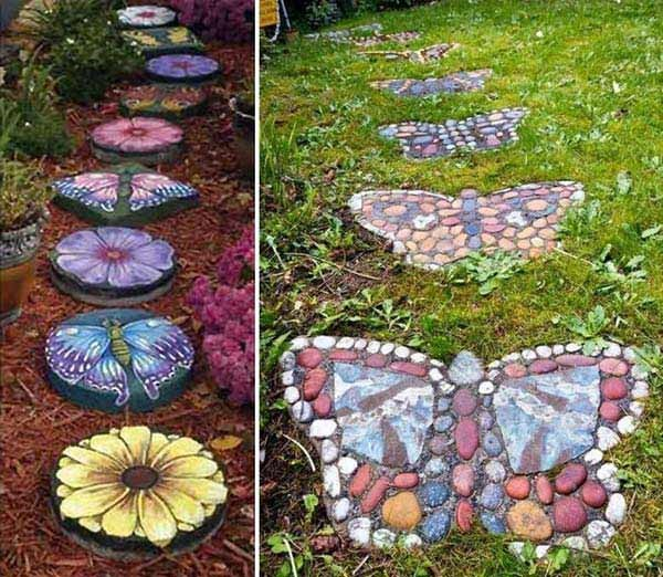 stepping stones garden
