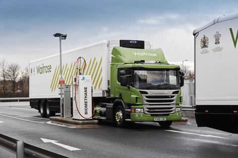 biomethane as vehicle fuel