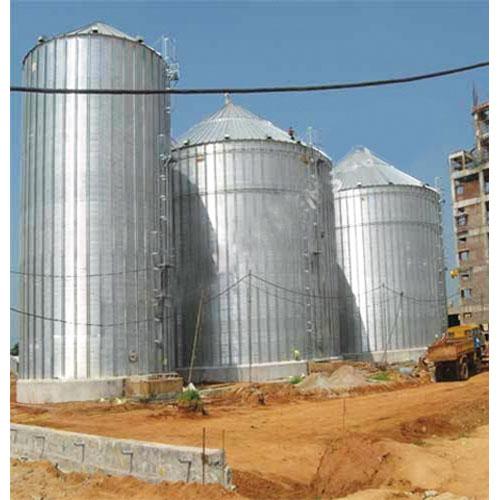 grain storage silos