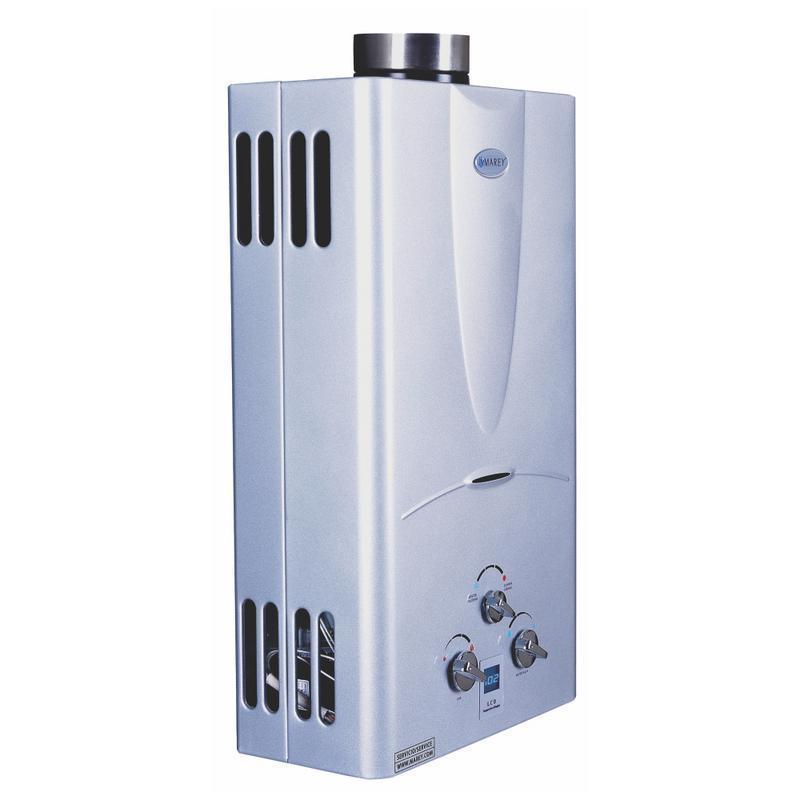 digital gas water heater