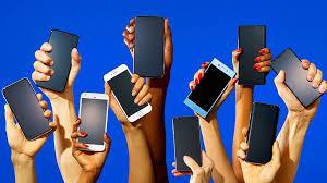 ecofriendly smartphone user