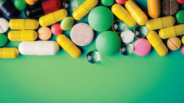 Pharma pills image
