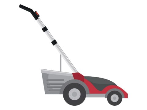 safety features electric lawn mowers