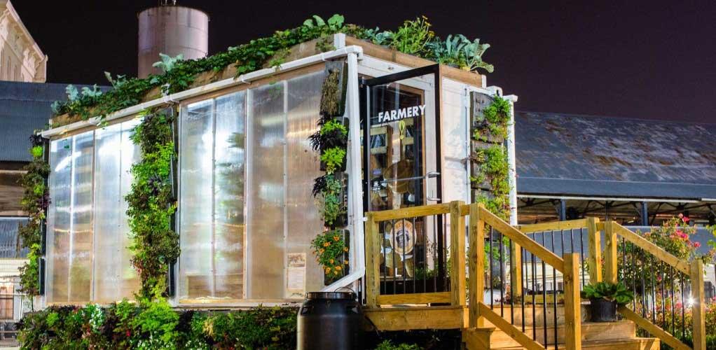 advantages container farming