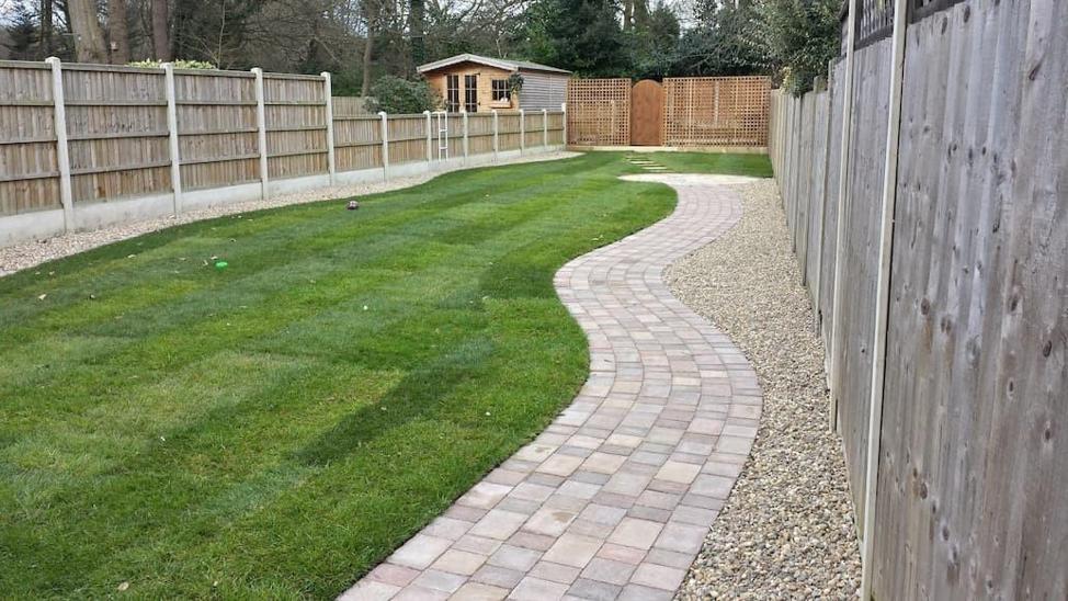 Roof Tiles Pathway